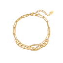 Armband Chains Two in One – goud